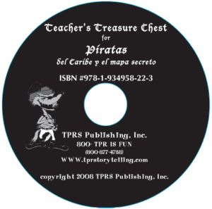 Piratas del Caribe y el mapa secreto – Teacher's Guide on CD