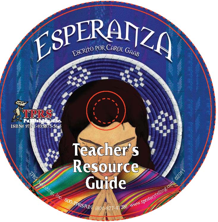 Esperanza – 2016 Edition Teacher's Guide on CD