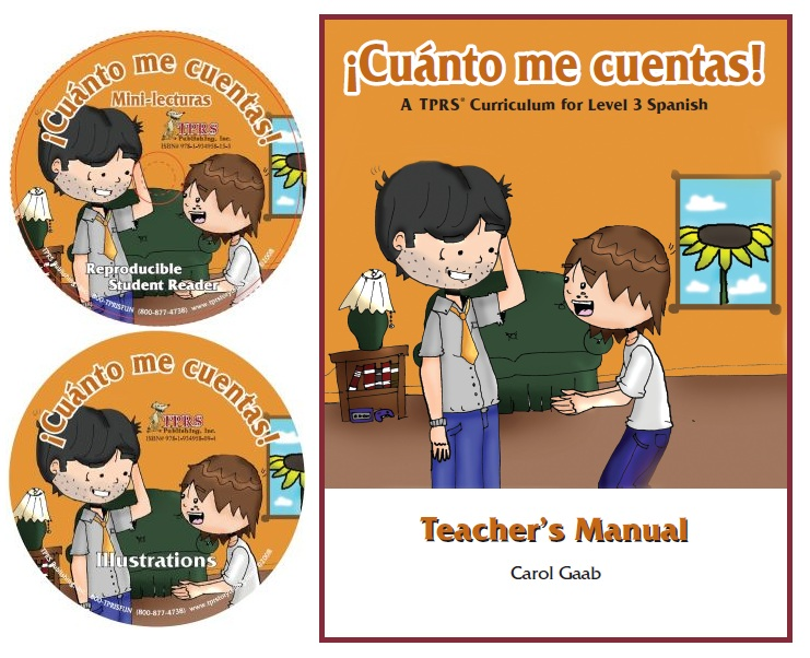 ¡Cuánto me cuentas! Teacher Introductory Package