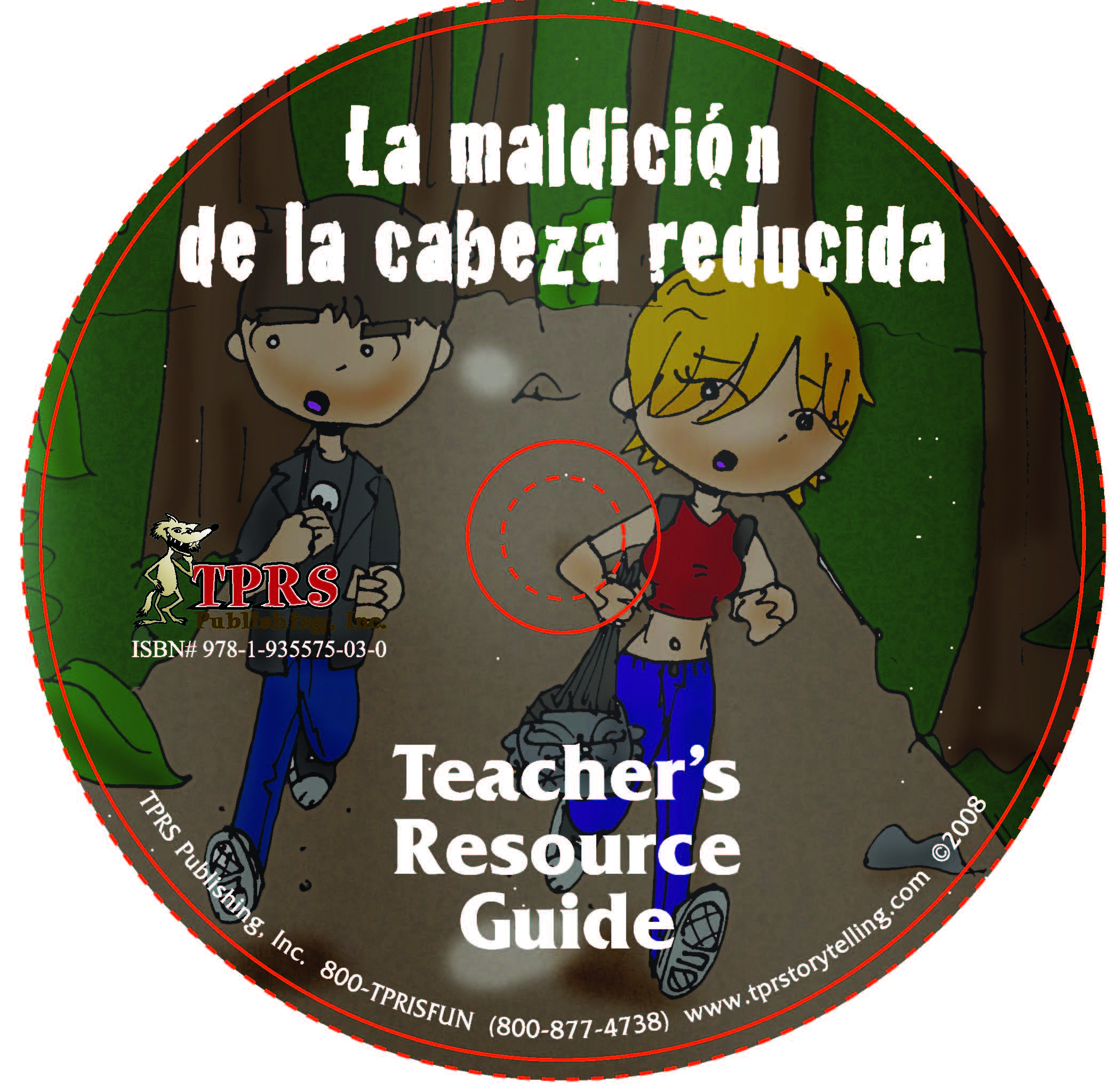 La maldición de la cabeza reducida – Teacher's Guide on CD