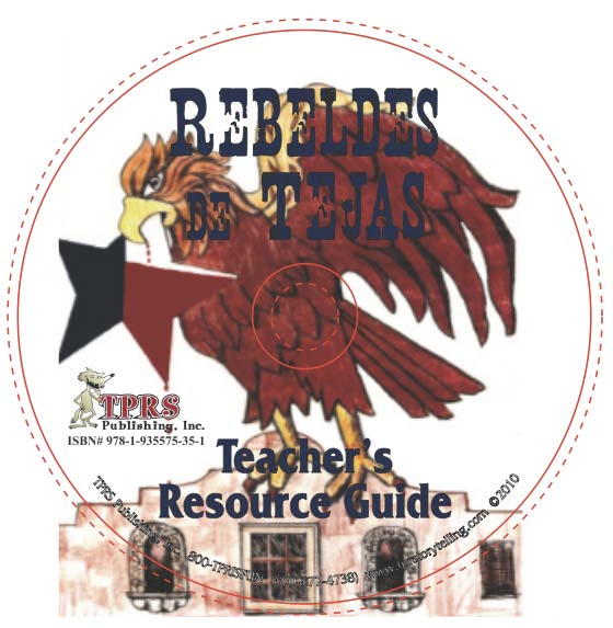 Rebeldes de Tejas – Teacher's Guide on CD