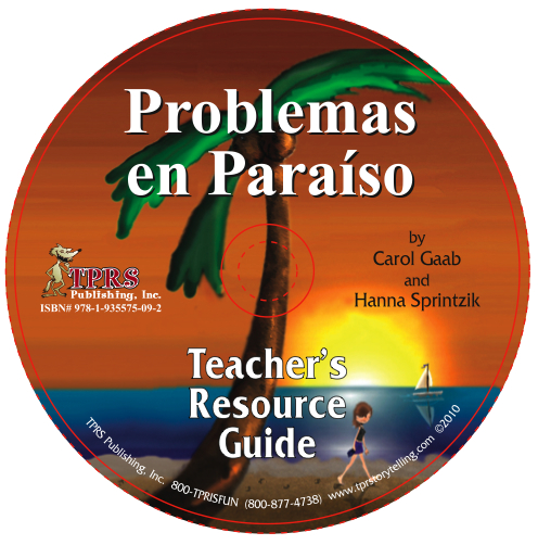 Problemas en Paraíso  -Teacher's Guide on CD