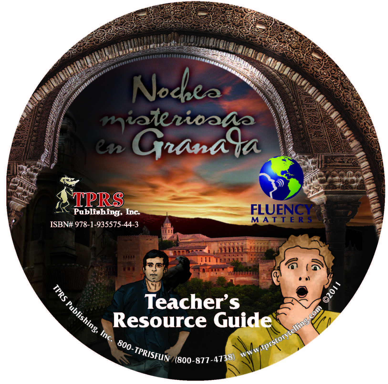Noches misteriosas en Granada – Teacher's Guide on CD