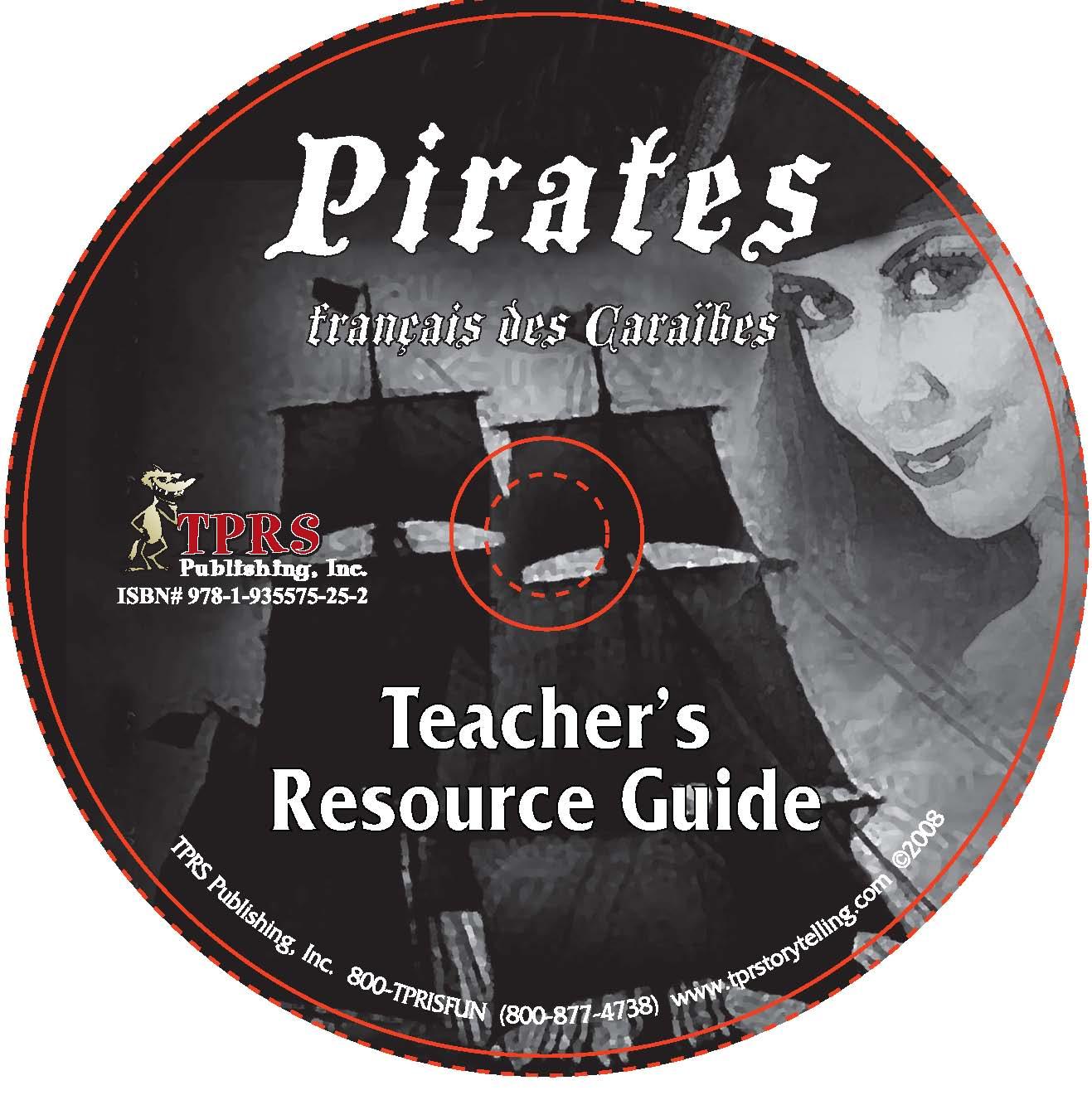 Pirates français des Caraíbes – Teacher's Guide on CD