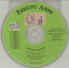 Pauvre Anne – Book on CD