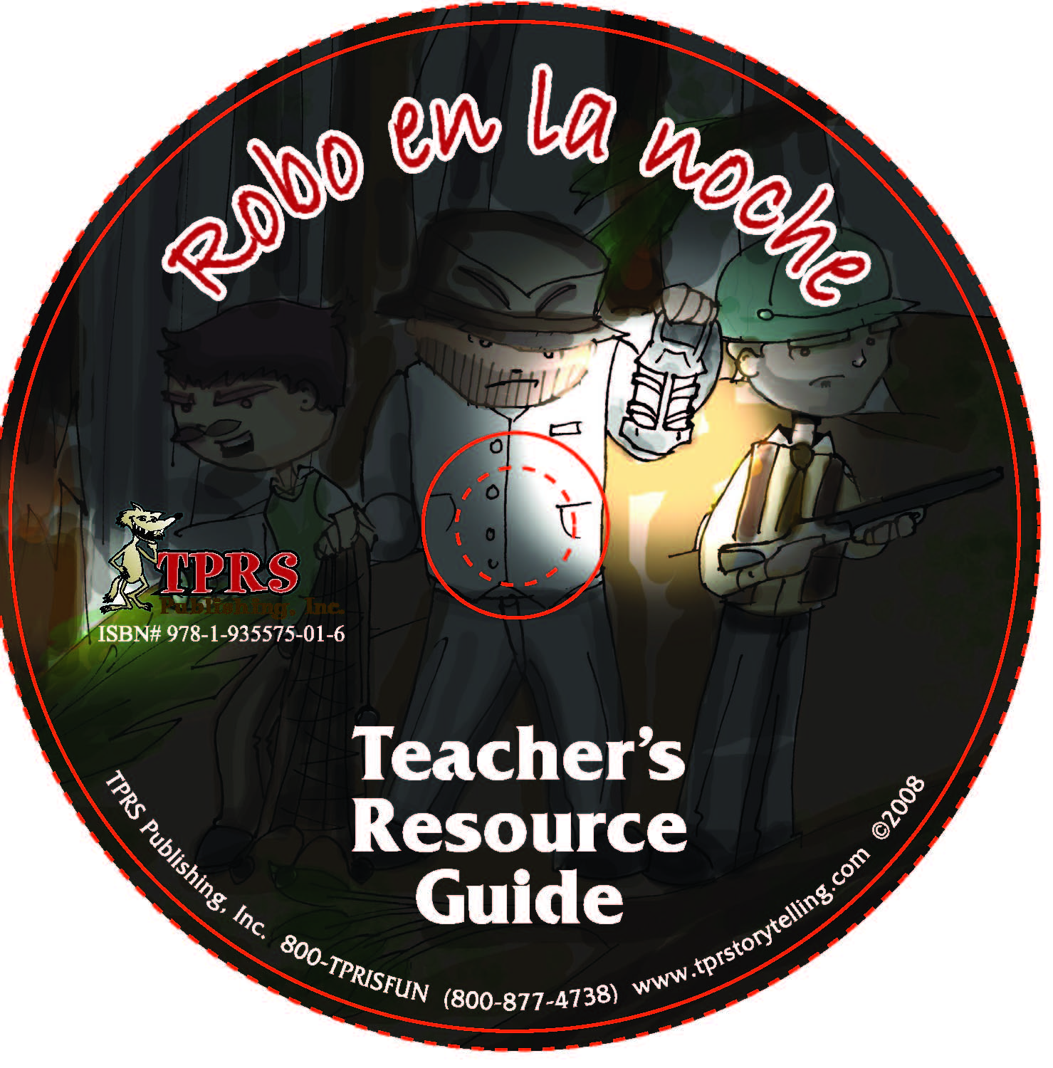 Robo en la noche – Teacher's Guide on CD