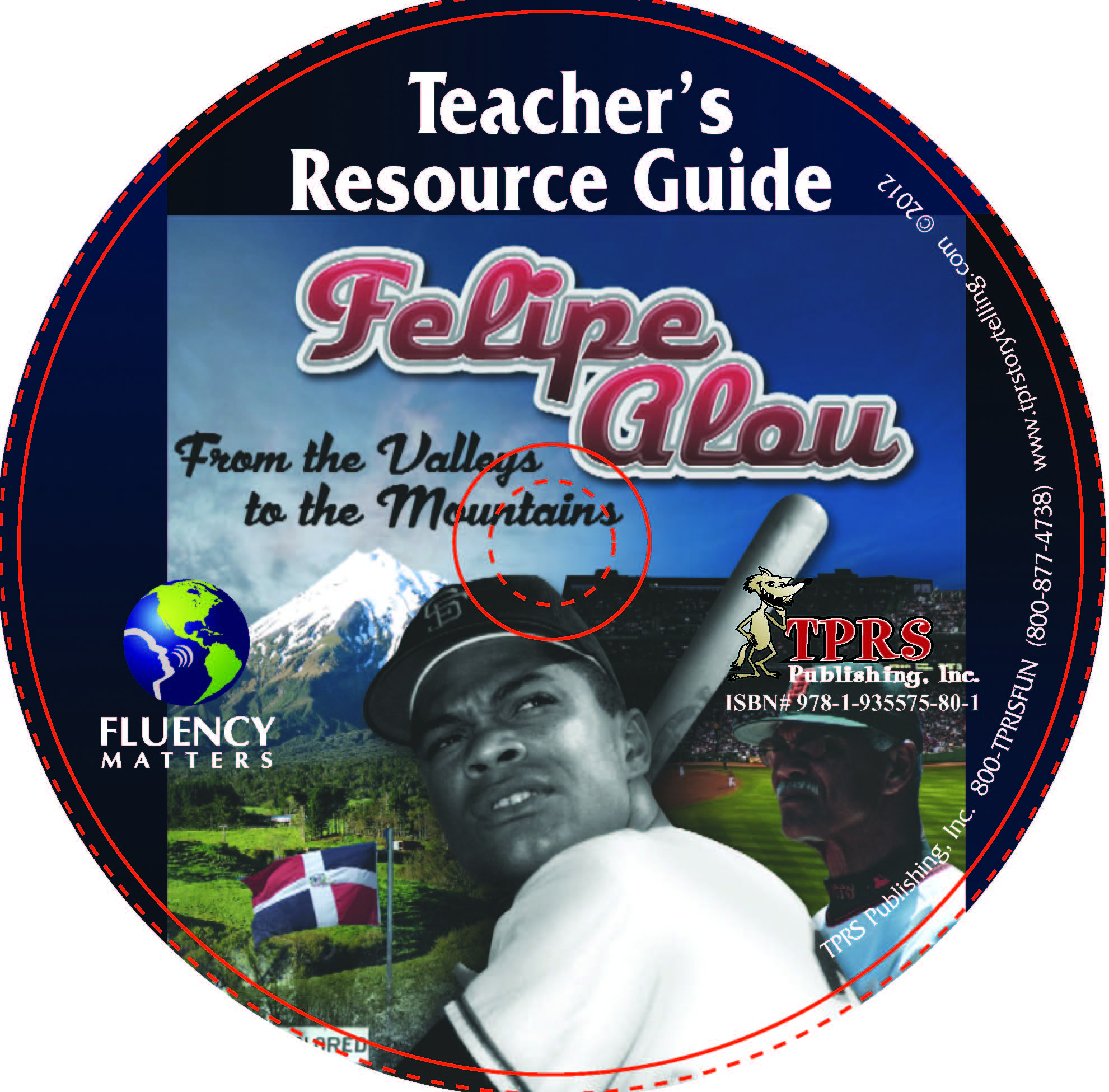 Felipe Alou: From the Valleys to the Mountains (English) –  Teacher's Guide on CD