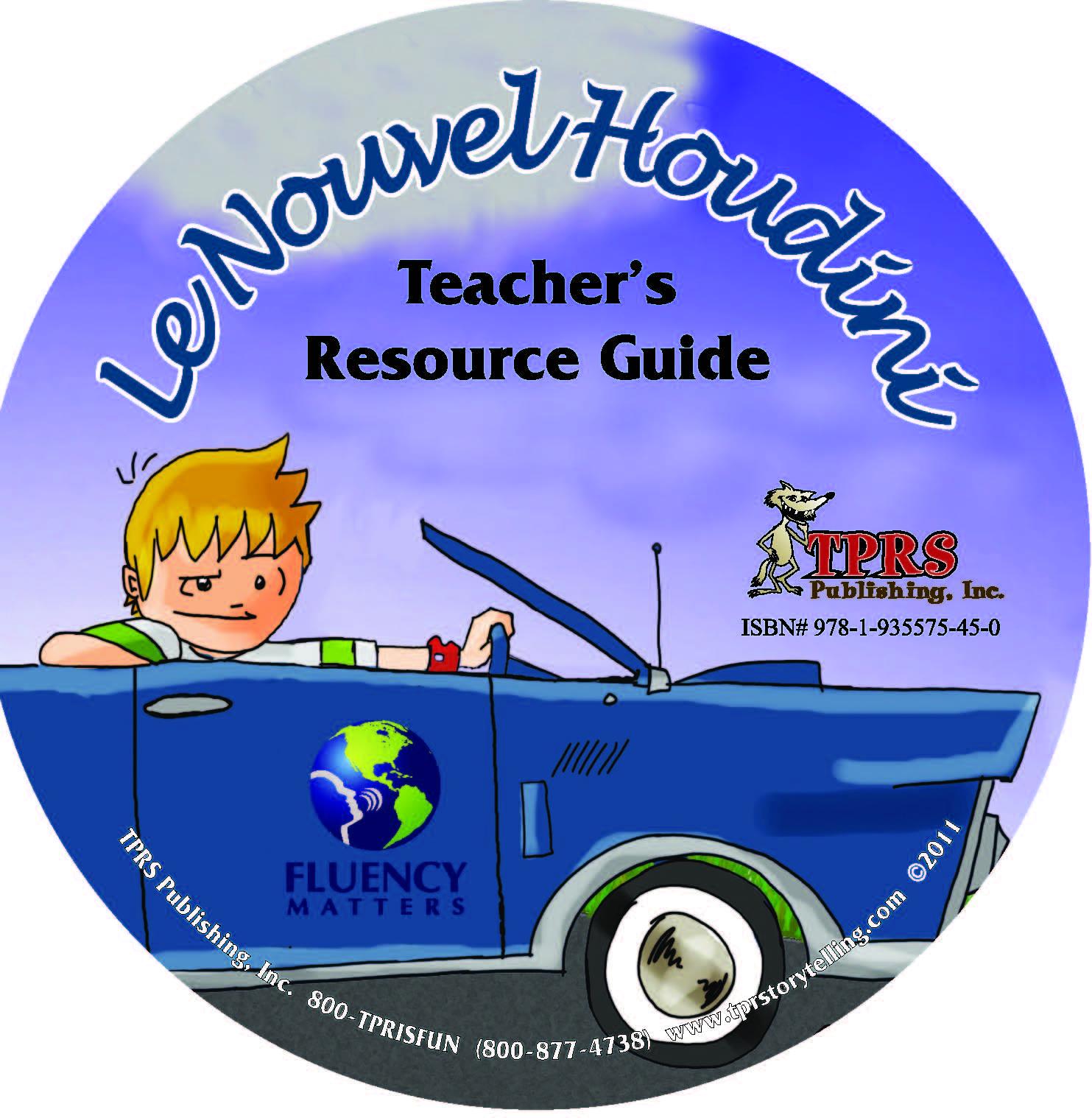 Le Nouvel Houdini – Teacher's Guide On CD