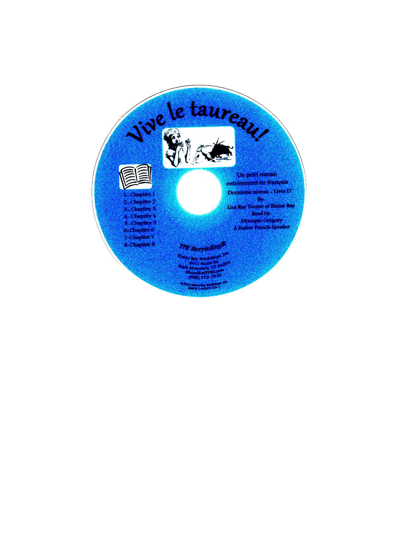 Vive le taureau! Book on CD