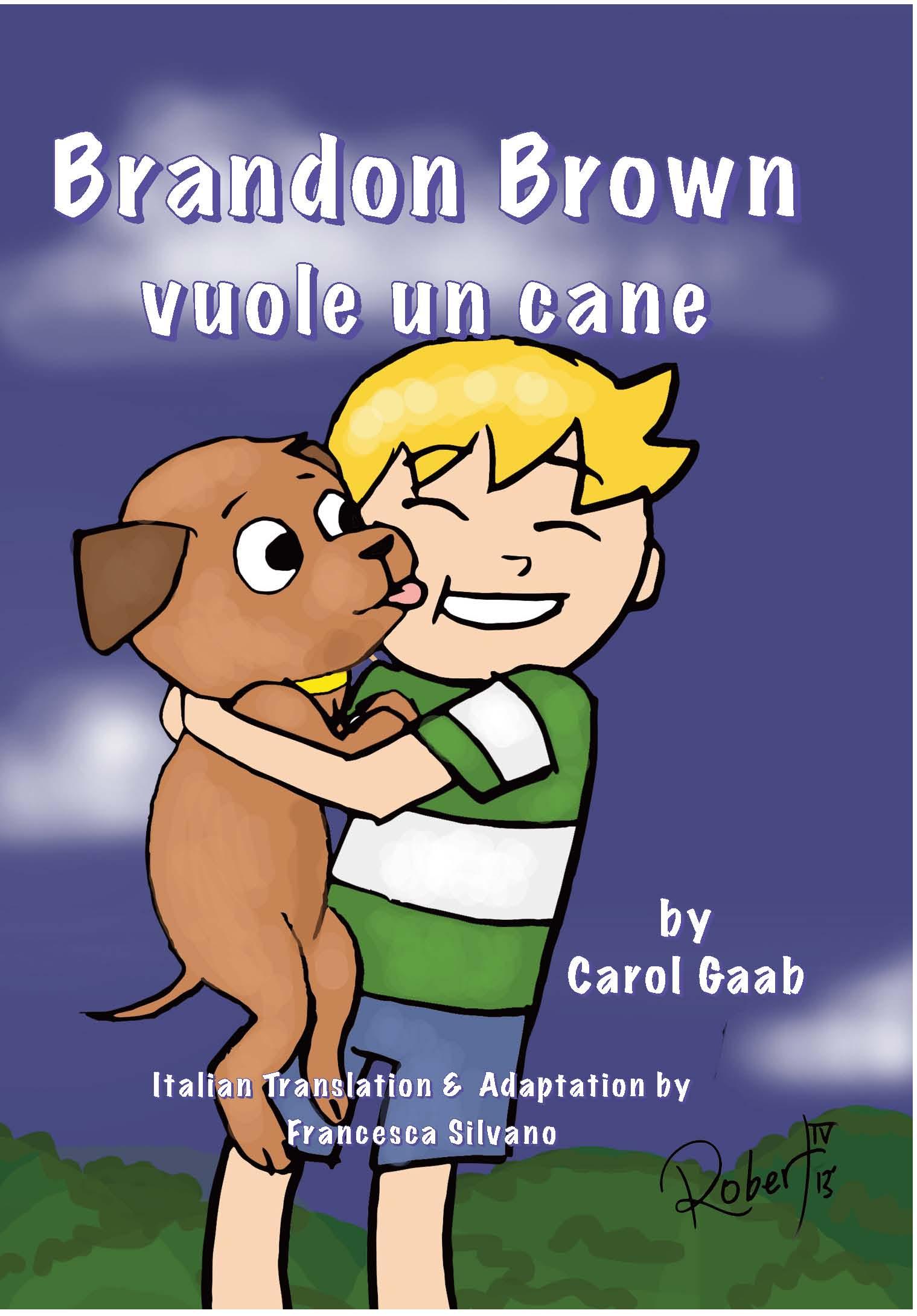 Brandon Brown vuole un cane – Italian Novel